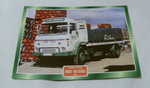 Dodge 100 Series 1974 Carlsberg lager Truck framed picture